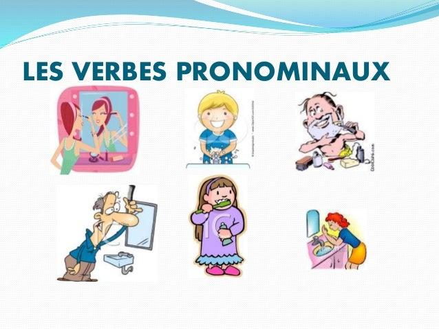 les verbes pronominaux pdf
