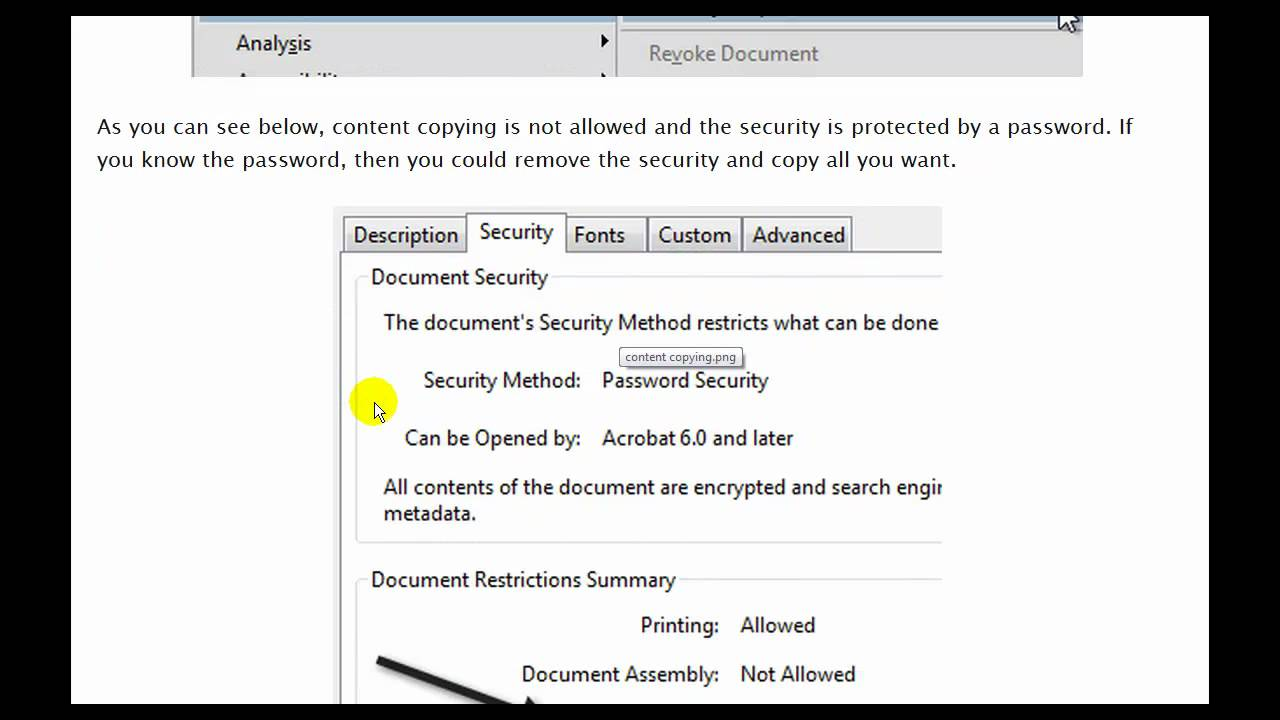 how to copy text from pdf file