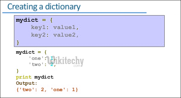 iterate over keys in dictionary python