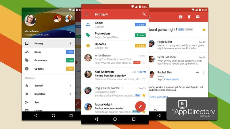 email application for android