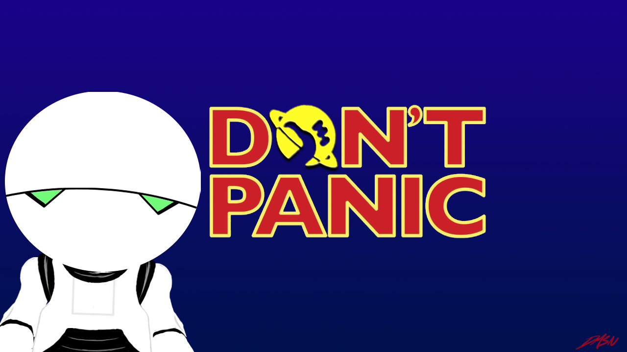 hickhikers guide to the galaxy fanart random