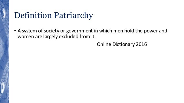 gender defined dictionary