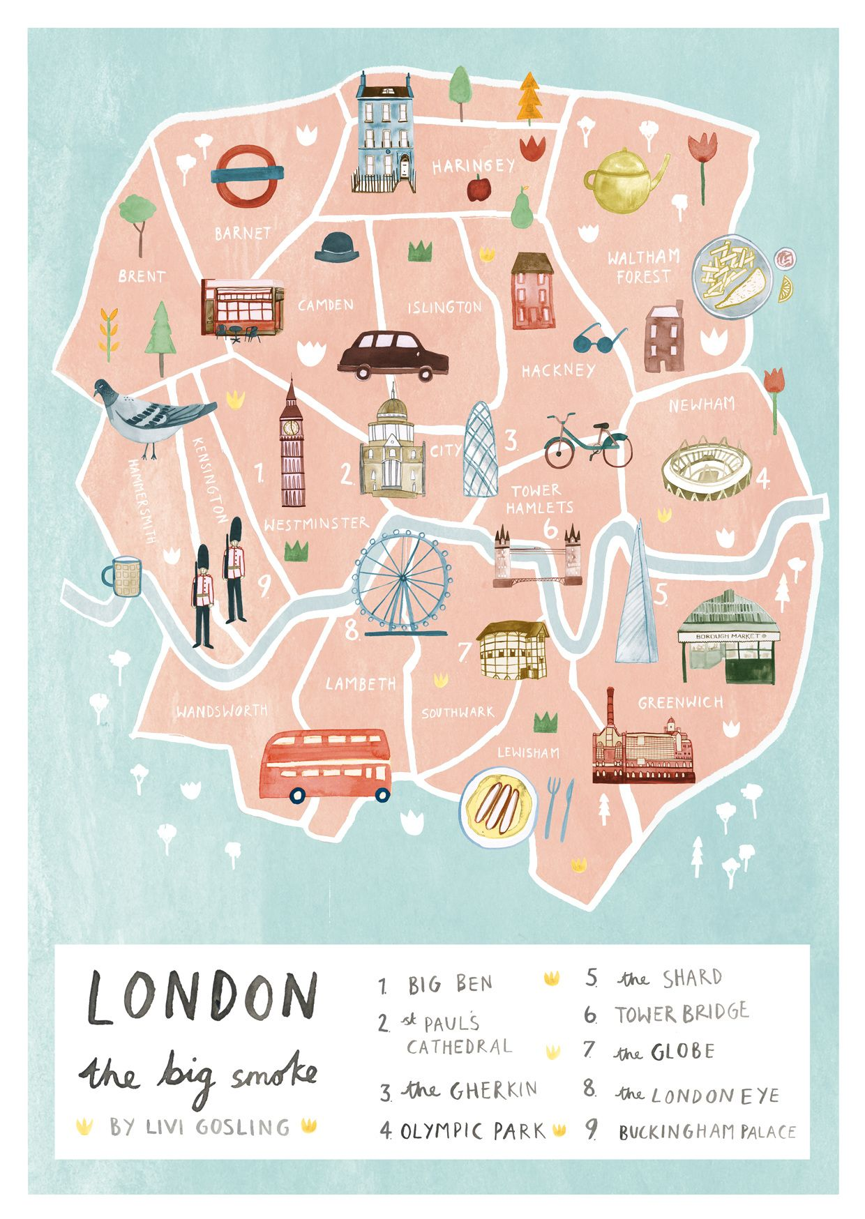 london pass attractions list pdf 2019