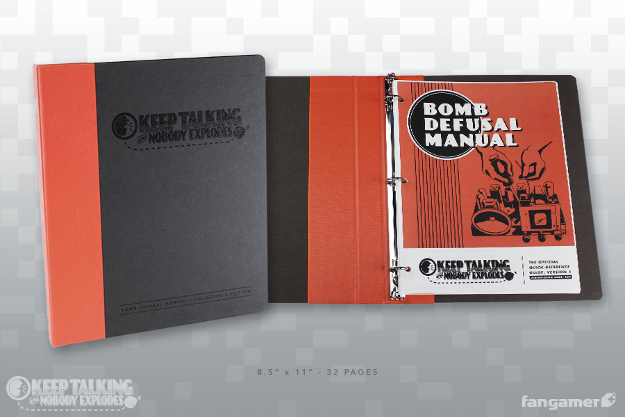 keep talking and nobody explodes manual version 1