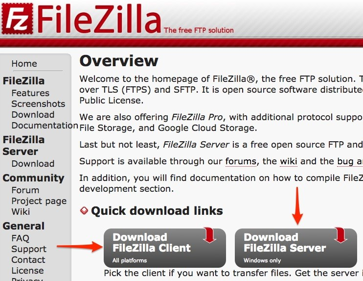 file zila operating instructions