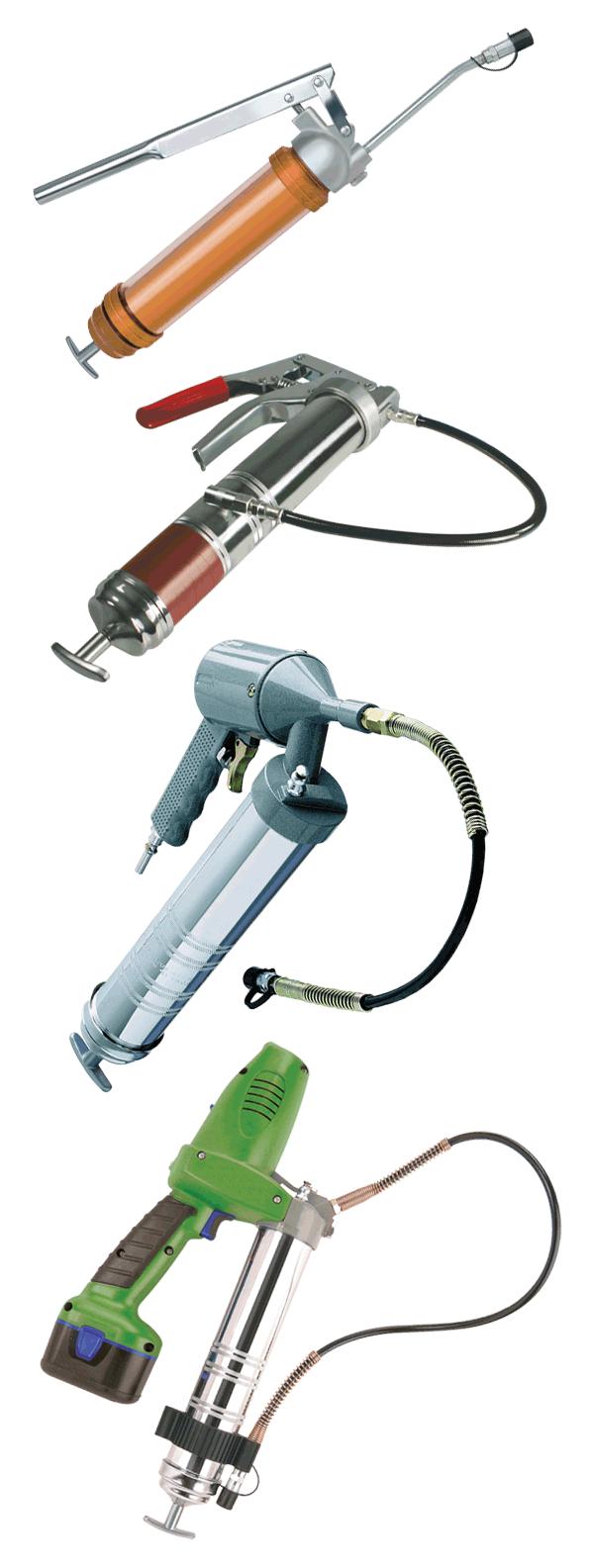 manual grease gun