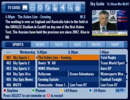 eir sports tv guide