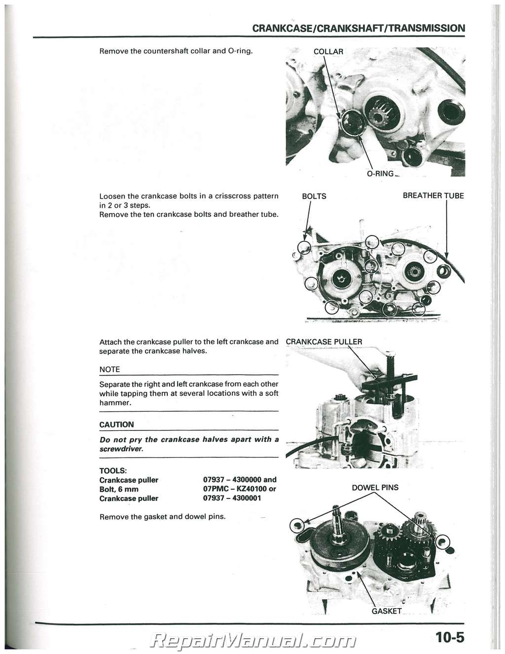 honda fc50 workshop manual