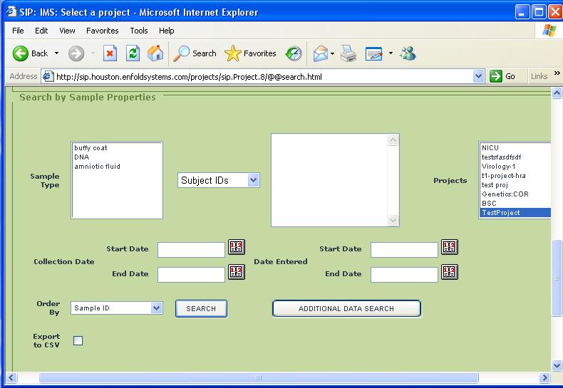 inventory system sample program