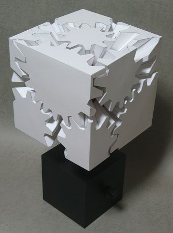 gear cube papercraft pdf
