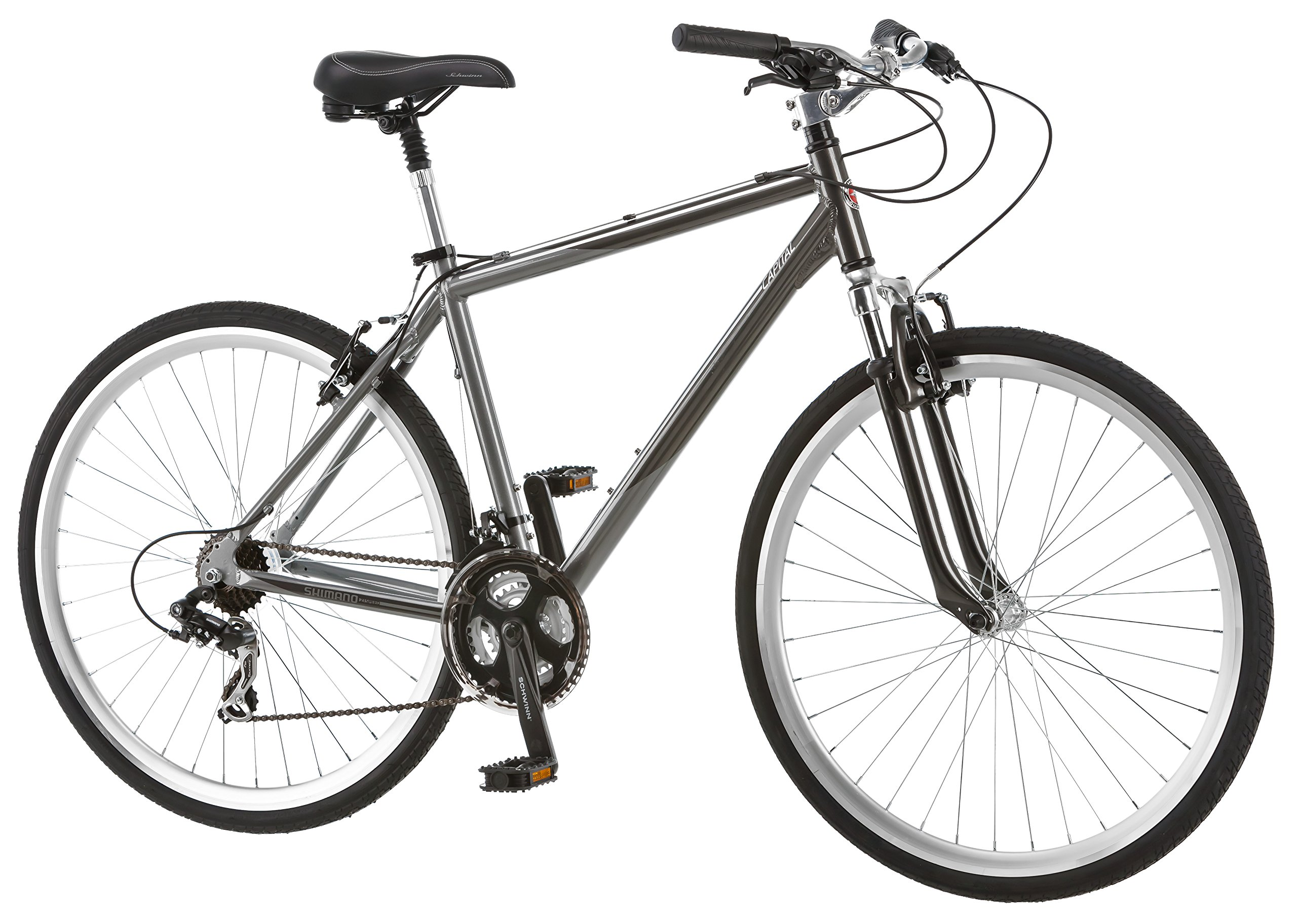 hybrid bike size guide mens