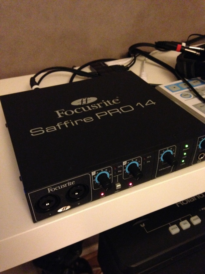 focusrite saffire pro 14 manual