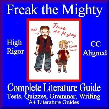 freak the mighty teacher guide