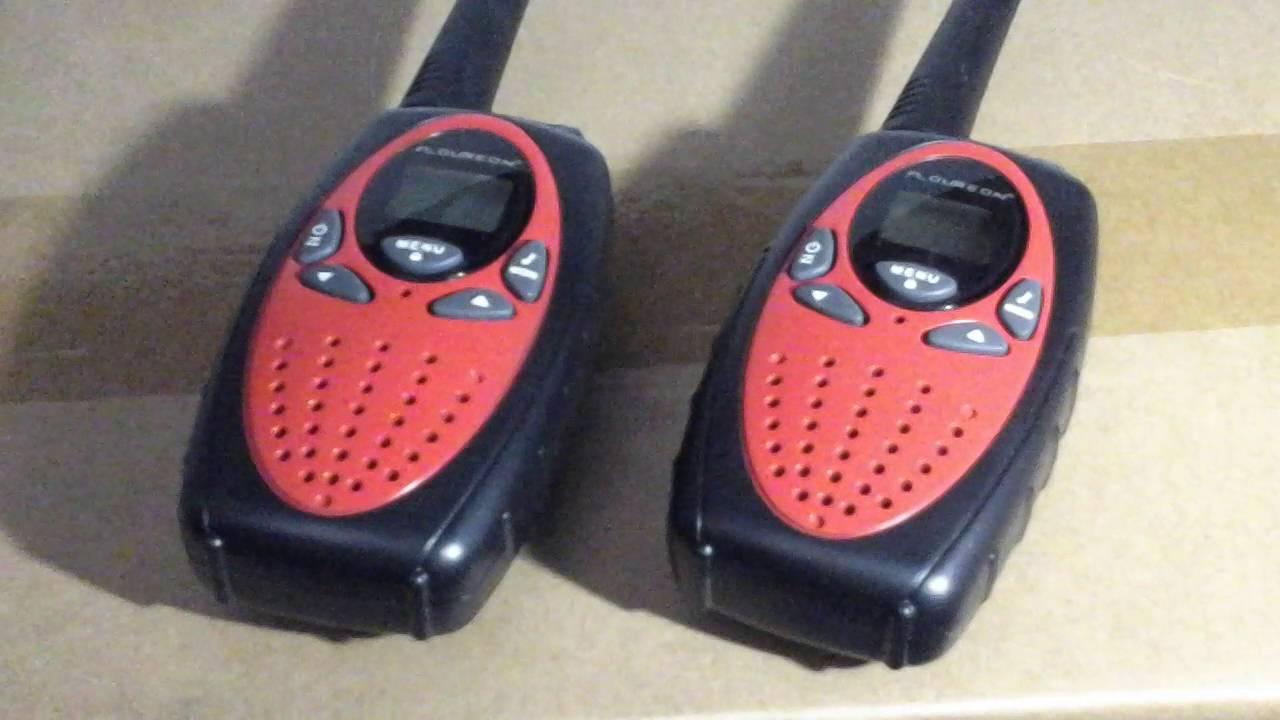 floureon walkie talkie instructions