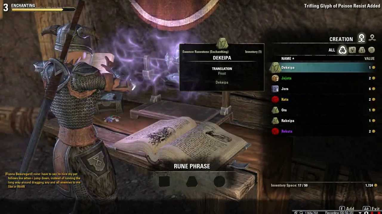 elder scrolls online crafting guide