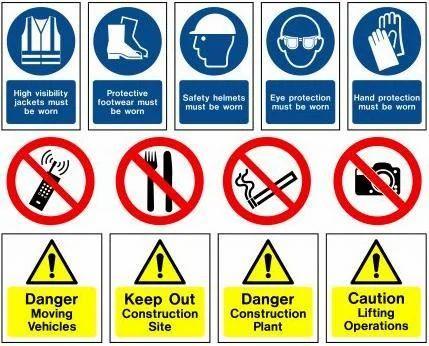 mandatory signs pdf