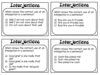 list of interjections pdf