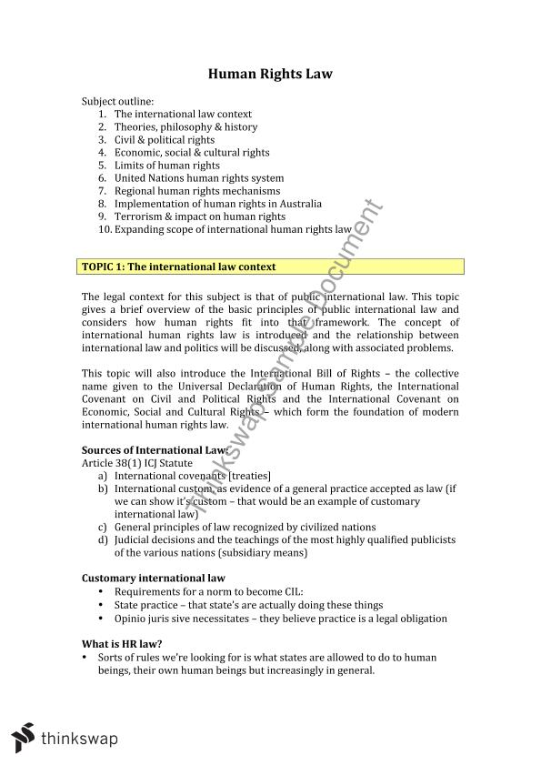 human rights act 1993 notes pdf
