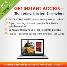firefighter application process