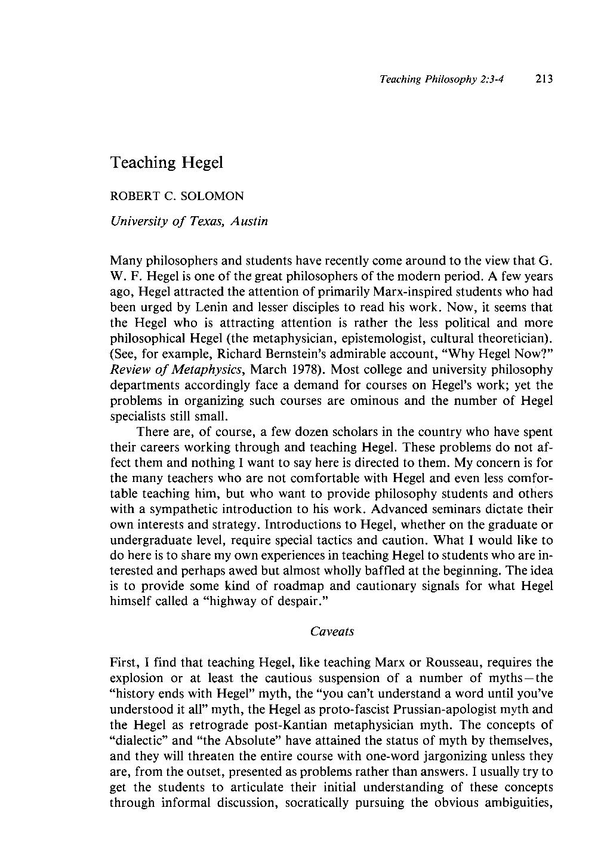 hegel pdf