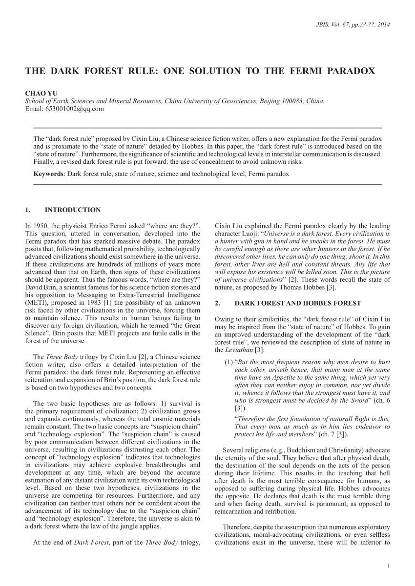 fermi paradox pdf