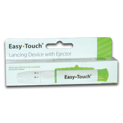 easy touch lancet device instructions