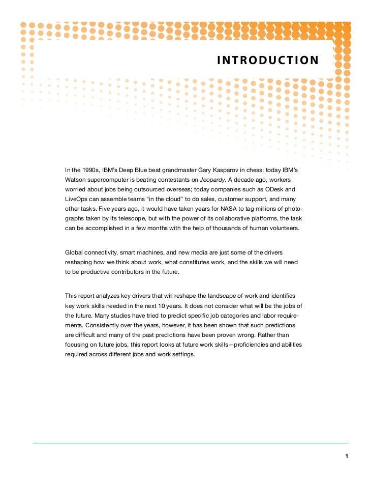future work skills 2020 pdf