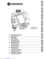 gardena c1060 profi user manual