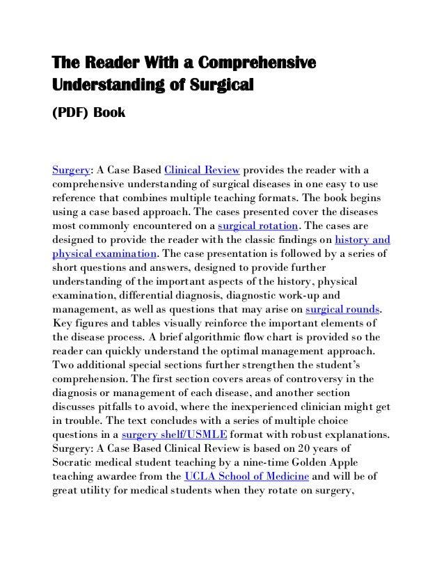 general surgery books pdf