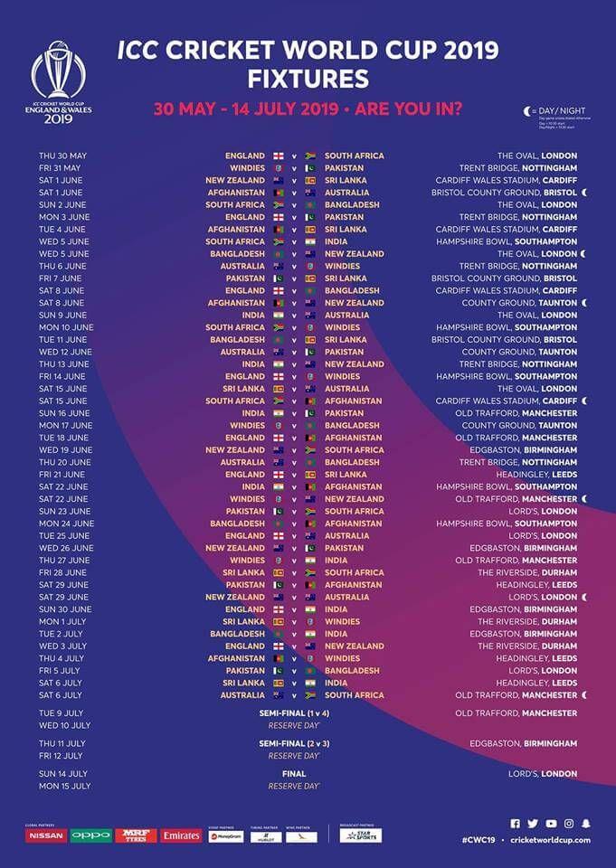 gold cup 2019 schedule pdf