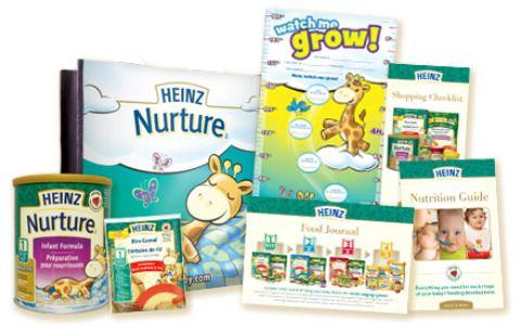 heinz nurture formula free sample