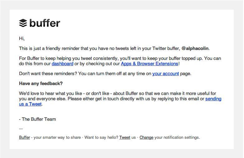 hi email sample