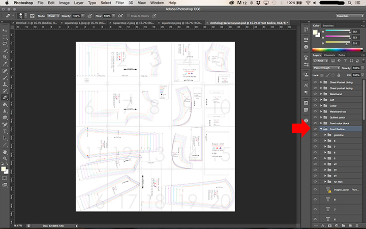 how to combine pdf pages in photoshop