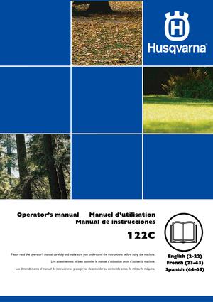 husqvarna 122c manual