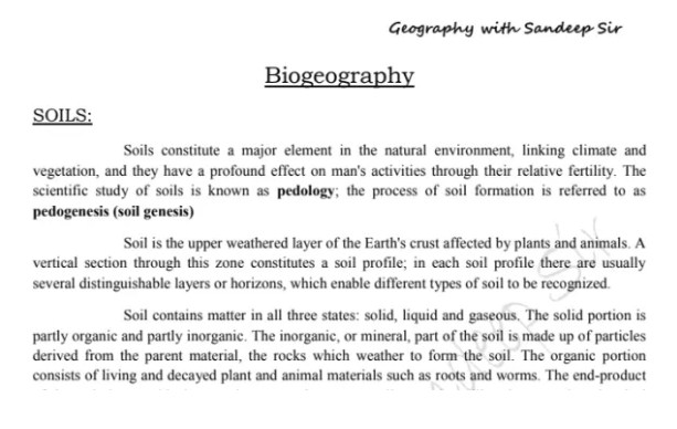 igcse geography notes pdf 2018