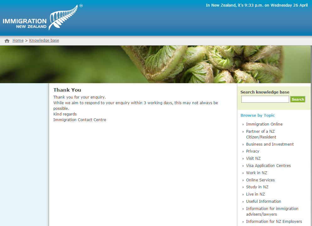 immigration new zealand online application status