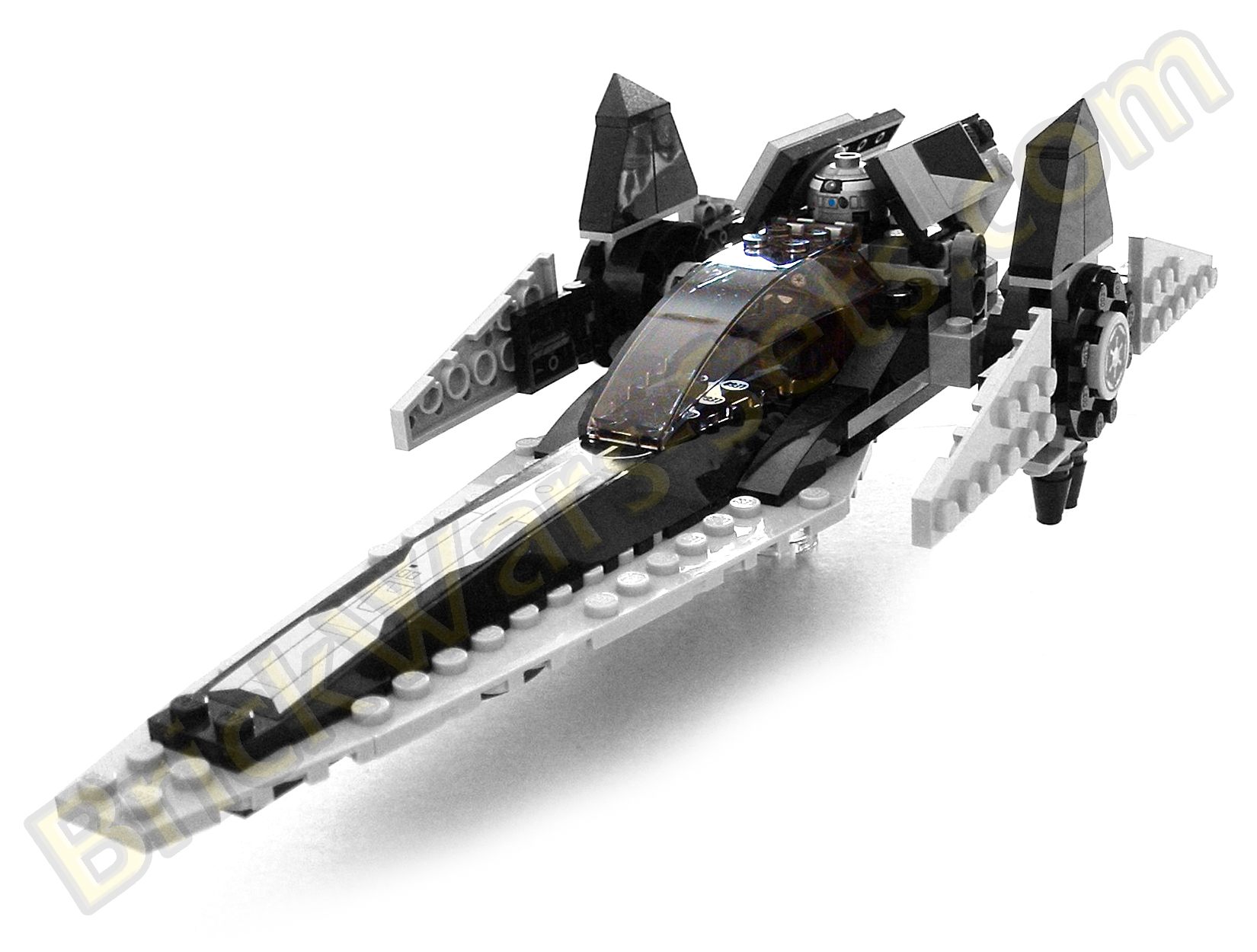 imperial v wing starfighter lego instructions