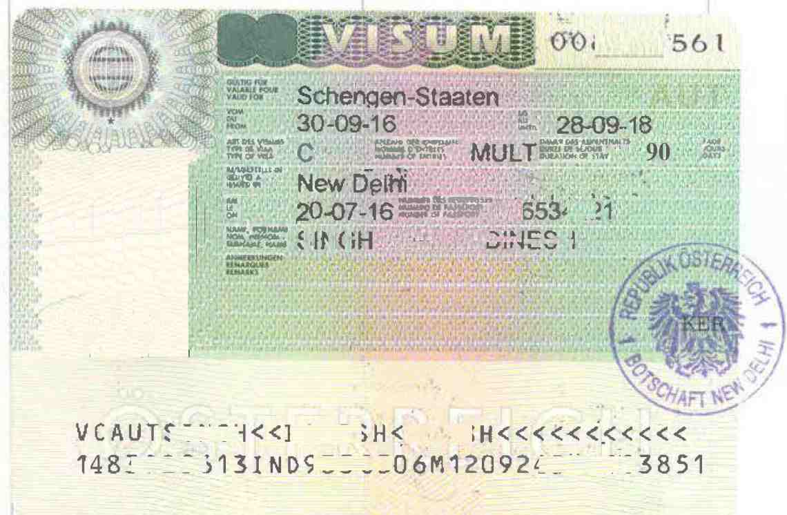 indian passport visa application for europe