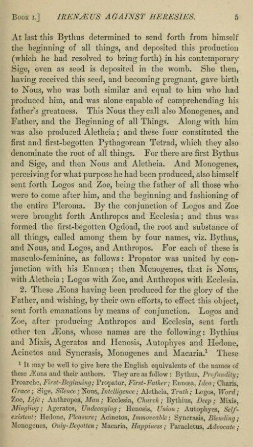 irenaeus against heresies book 5 pdf