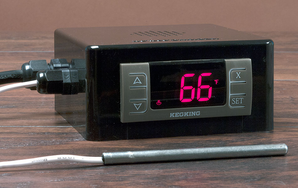 keg king temperature controller instructions