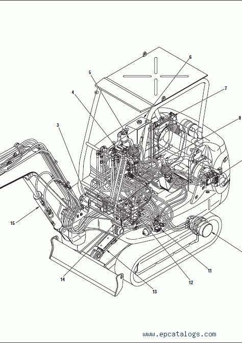 komatsu excavator manual