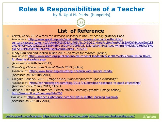 leadership roles and responsibilities pdf