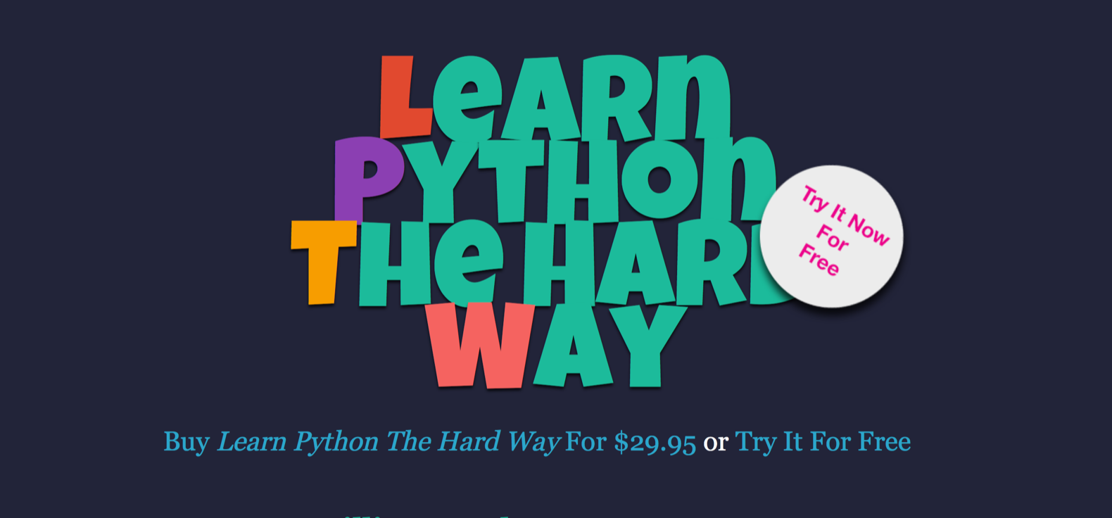 learn python 3 the hard way download pdf