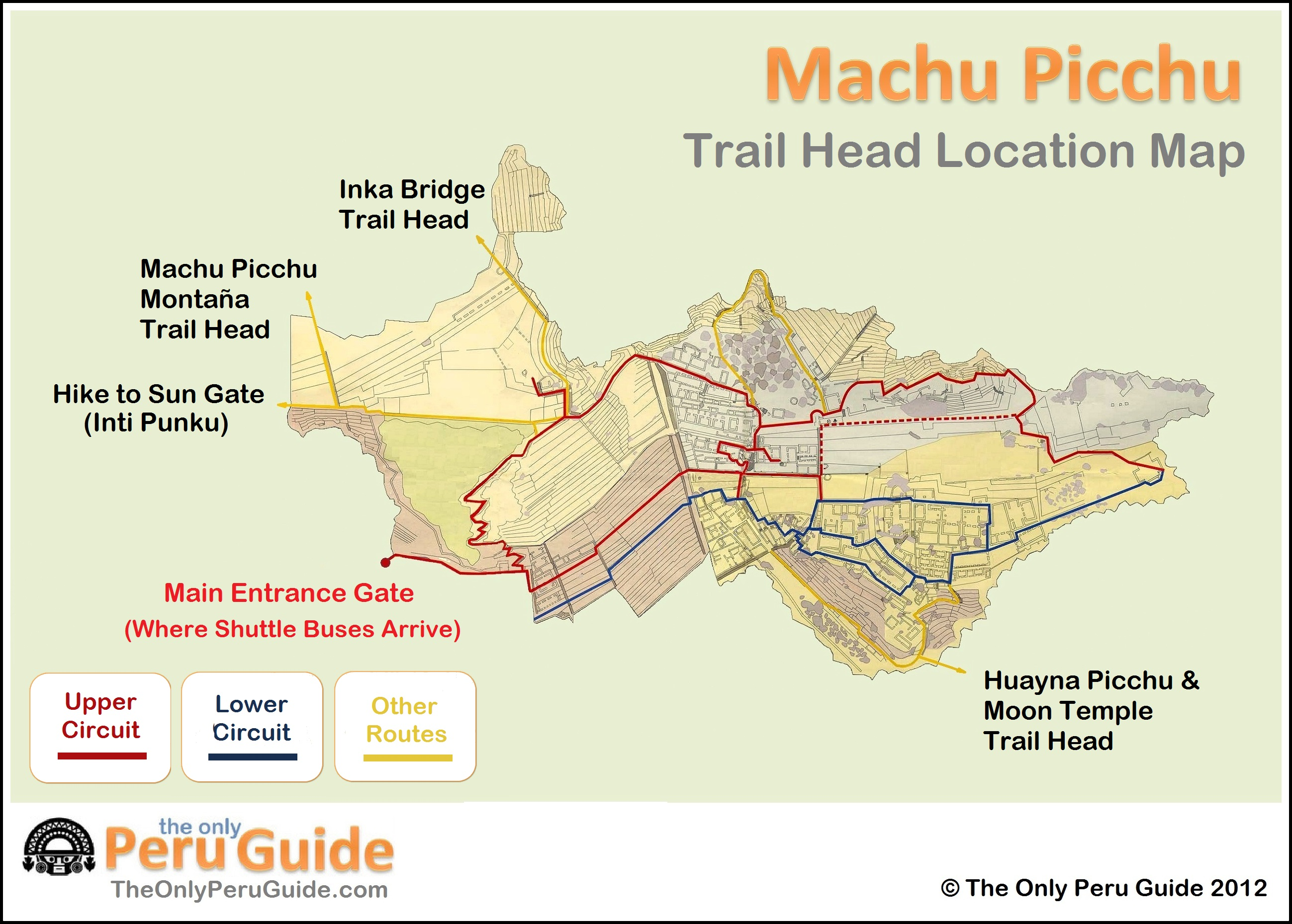 machu picchu guide map